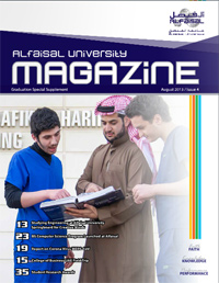 Alfaisal University Magazine 2013 Issue