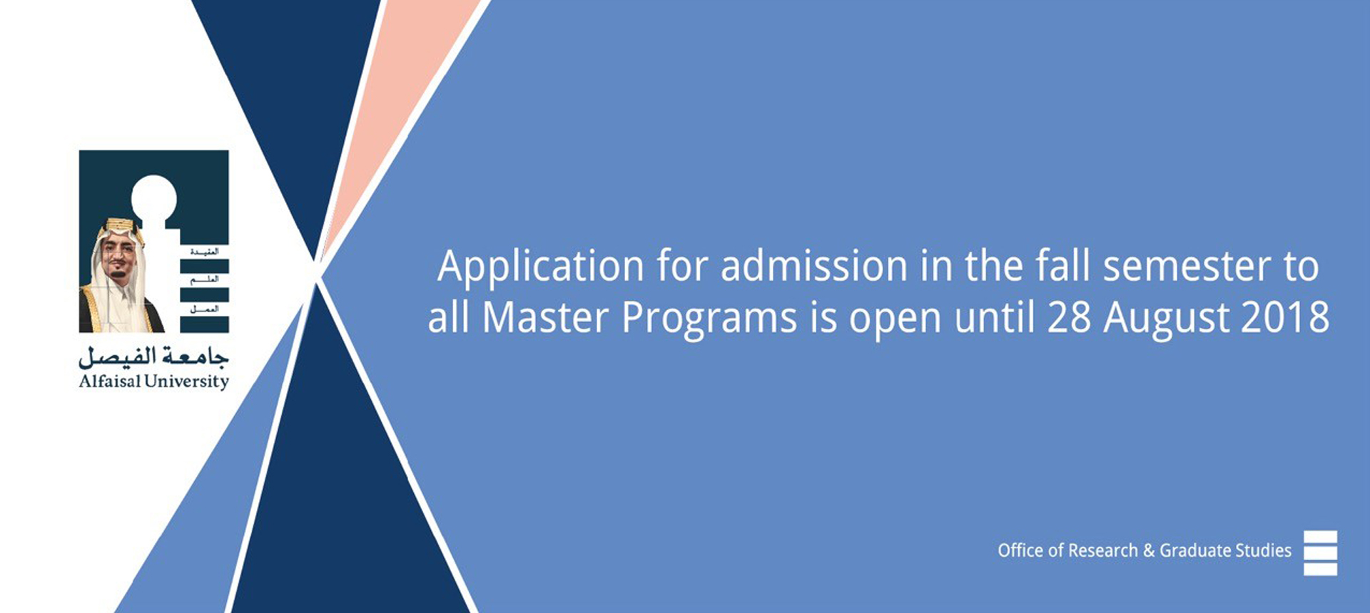 Research and Graduate Studies at Alfaisal University